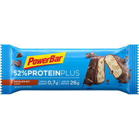 PowerBar ProteinPlus 52% - Nutrition sport - Chocolate Nuts 20 x 50g